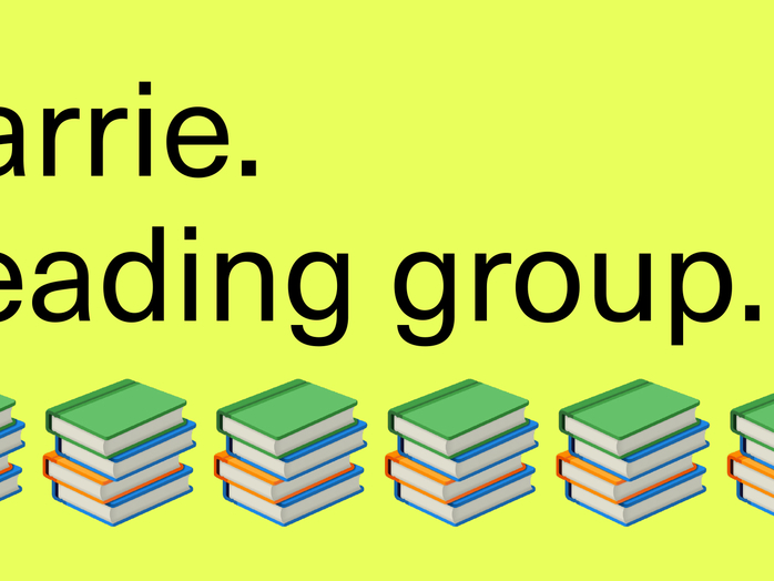 Carrie: Reading Group