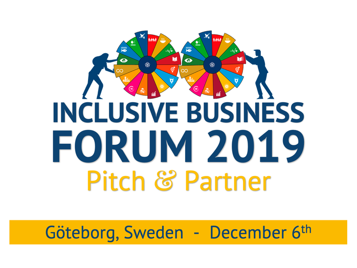 Inclusive Business Forum 2019: Pitch & Partner